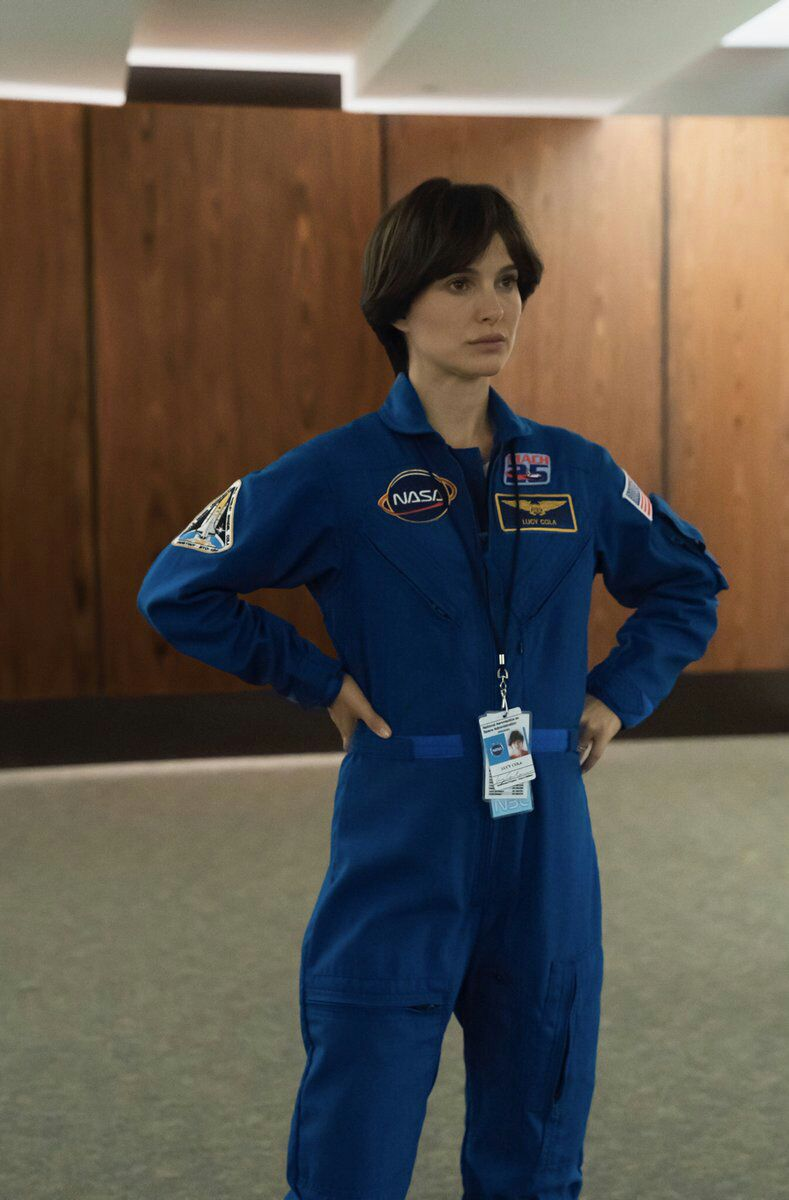 ناتالی پورتمن در فیلم «نقطه آبی کمرنگ