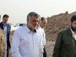 بازدید وزیر جهاد کشاورزی از عملیات مقابله با ریزگردها در اهواز
