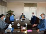 دیدار مدیر تعاون روستایی استان آذربایجان شرقی با فرماندار شهرستان عجب شیر