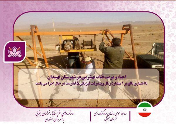 دستاورد بازدیدهای استاندار خراسان جنوبی از بخش کشاورزی (شهرستان نهبندان)