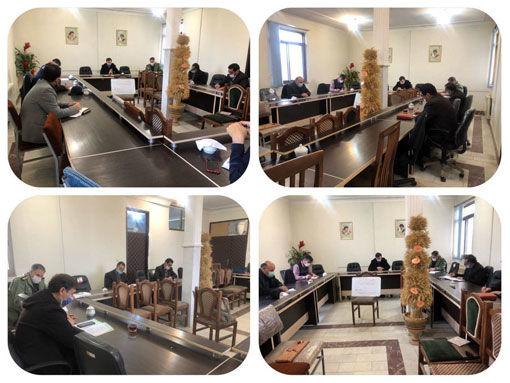 برگزاری جلسه قرارگاه امنیت غذایی در شهرستان بناب با همکاری سپاه ناحیه مقاومت شهرستان