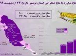 مبارزه با ملخ در استان بوشهر از ۳۳ هزار هکتار بیشتر شد