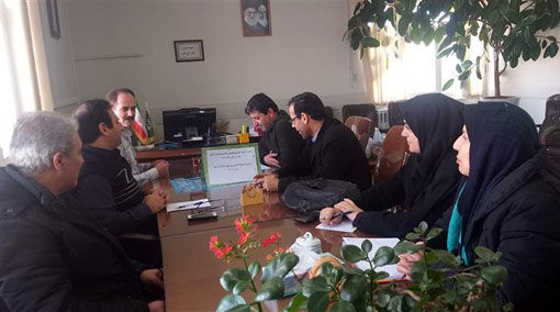 برگزاری جلسه کارگروه تخصصی زراعت کلزا در مدیریت جهاد کشاورزی شهرستان آذرشهر