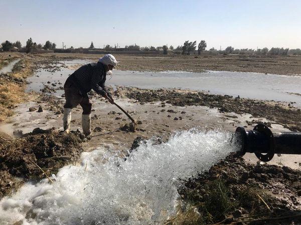 حق آبه برای همه کشاورزان سیستانی در نظر گرفته شده است