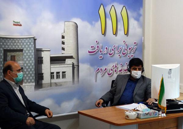 حضور رئیس سازمان جهادکشاورزی استان آذربایجان شرقی در مرکز سامد استانداری