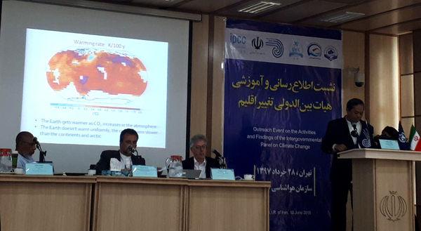 ایران به سمت خشکیدگی و بیابانیتر شدن پیش میرود