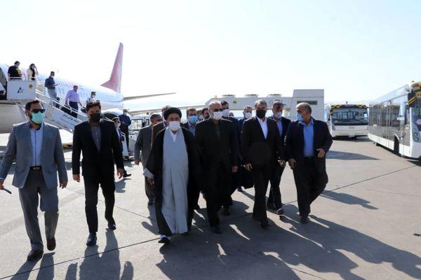 وزیر جهاد کشاورزی وارد شیراز شد