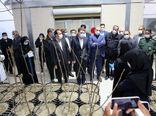 وزیر جهاد کشاورزی از گلخانه قرنطینه ای گردو در شهرستان ارزوئیه بازدید کرد