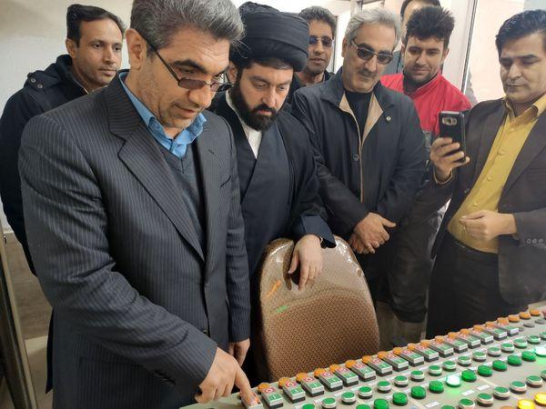 کارخانه خوراک دام زردانه الیپی در کرمانشاه افتتاح شد