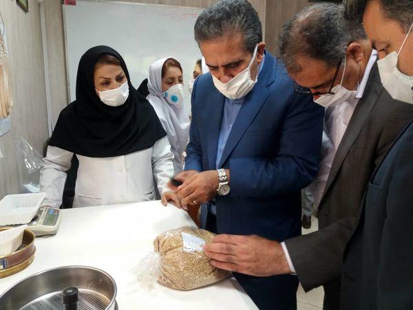بازدید رییس سازمان جهاد کشاورزی استان تهران از مراکز خرید تضمینی گندم