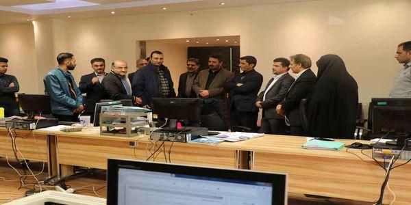 بازدید مدیرکل دفتر واگذاری و توسعه اراضی از سامانه جامع امور اراضی استان اصفهان