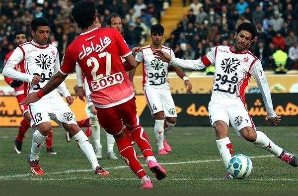 پخش زنده دو دیدار از رقابت های لیگ برتر فوتبال