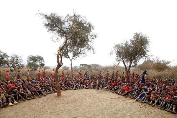 جشن بلوغ در کنیا