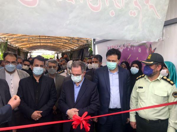 افتتاح ۱۹طرح کشاورزی به مناسبت هفته دولت در شهرستان ری