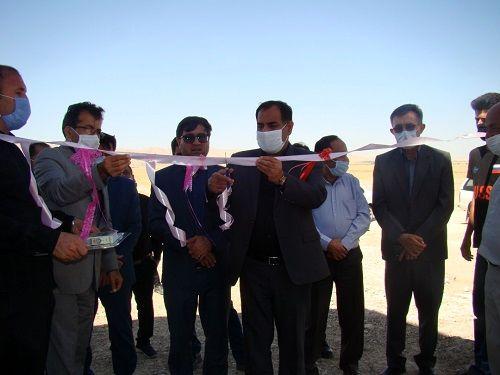 افتتاح یک واحد دامپروری در فراشبند فارس