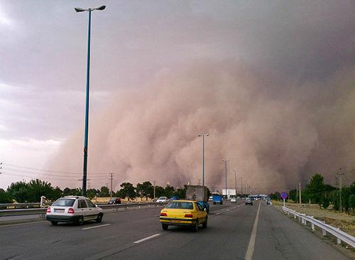 افزایش دما در شمالغرب و توفان شن در جنوبشرق کشور