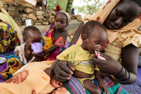 رشد جمعیت در جهان گرسنگان بیشتر است