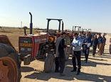 بازدید فنی پلاک گذاری ماشین آلات کشاورزی بناب