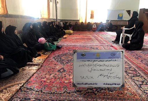 توسعه اشتغال خانگی برای زنان روستایی و عشایری در شهرستان بناب