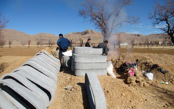 مرمت، لایروبی و بازسازی قنات در شهرستان شهرکرد