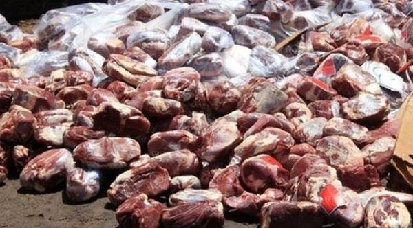 ۴۰۰ کیلوگرم گوشت تاریخ گذشته در قزوین کشف شد