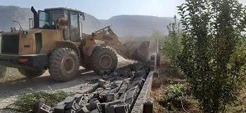 تخریب همزمان 176 مورد ساخت و ساز غیر مجاز در شیراز