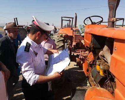 بالغ بر 3720 دستگاه ماشین آلات بخش کشاورزی در استان تهران پلاک گذاری شد