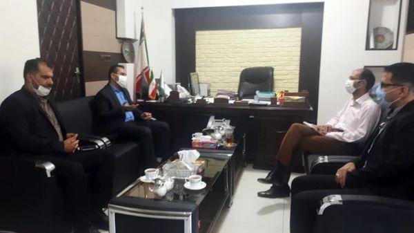 برگزاری نشست مشترک سازمان بسیج ادارات خوزستان با مدیر کل منابع طبیعی و آبخیزداری
