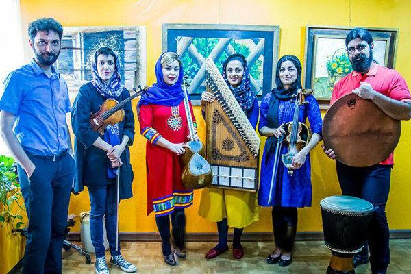 چهارنوازی قانون در خانه هنرمندان ایران