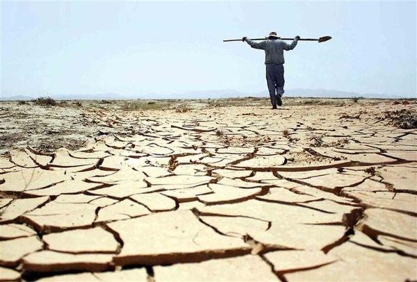 برآورد خسارت ۶۷ هزار میلیارد تومانی خشکسالی به بخش کشاورزی
