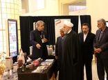 رئیس جمهوری از نمایشگاه دستاوردهای فنآورانه و توانمندیهای وزارت جهاد کشاورزی بازدید کرد