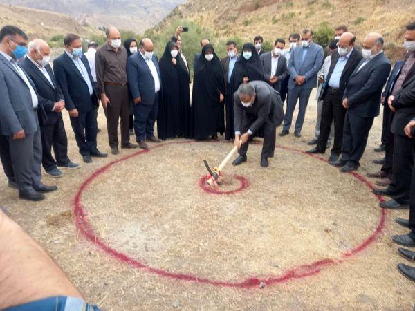 عملیات اجرای یک طرح آبخیزداری در الموت غربی قزوین آغاز شد