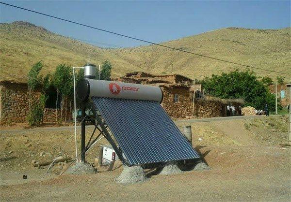 نصب ۸۰۰ آبگرمکن خورشیدی در مناطق جنگلی چهارمحال و بختیاری