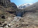 افتتاح پروژه سنگی ملاتی روستای خراجی