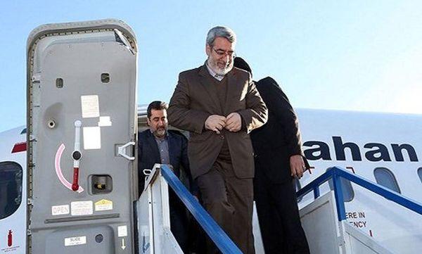 وزیر کشور راهی کرمانشاه شد