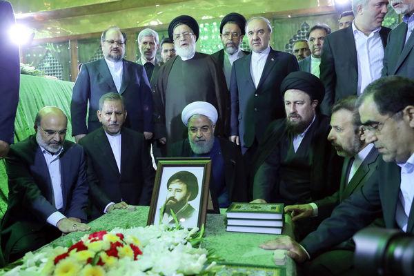 تجدید میثاق اعضای هیأت دولت با آرمانهای امام خمینی (ره)