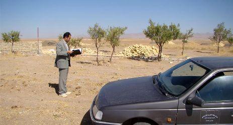 صدور 15 فقره مجوز تغییر کاربری اراضی زراعی  در 4 ماهه اول سال جاری در شهرستان آشتیان