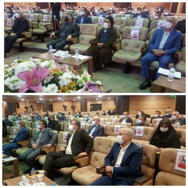 حضور رییس سازمان جهاد کشاورزی استان قزوین در گردهمایی ملی آغاز سال زراعی ۱۴۰۱-۱۴۰۰