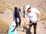 بذر پاشی ۲۳۰ هکتار از مراتع شهرستان بافق