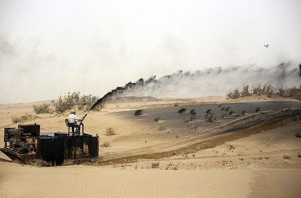 اجرای ۲۹ هزار هکتار عملیات نهال کاری و مالچ پاشی در خوزستان