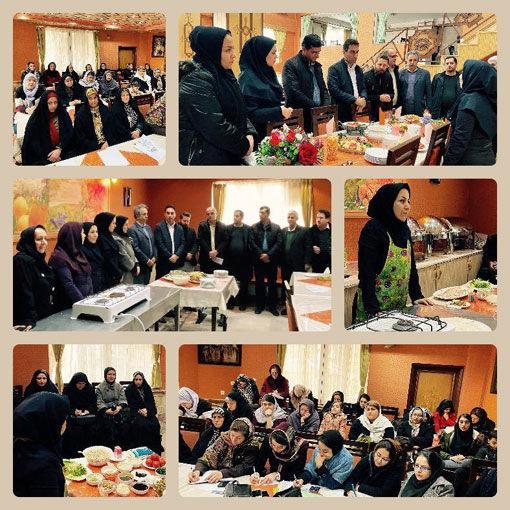برگزاری کلاس آموزشی طبخ آبزیان درشهرستان اسکو