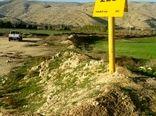 کشاورزان، حریم لوله گاز را رعایت کنند
