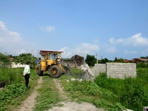 بازگشت 20 هزار متر مربع زمین کشاورزی عباس آباد به چرخه تولید