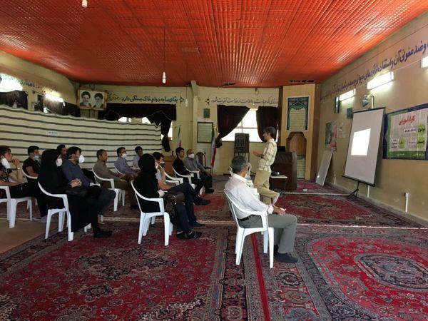 برگزاری کارگاه آموزشی پرورش زنبور عسل در شهرستان بروجن