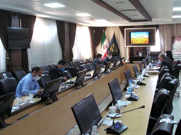 برگزاری جلسه کمیسیون رفع تداخلات سازمانهای کشاورزی خراسان شمالی