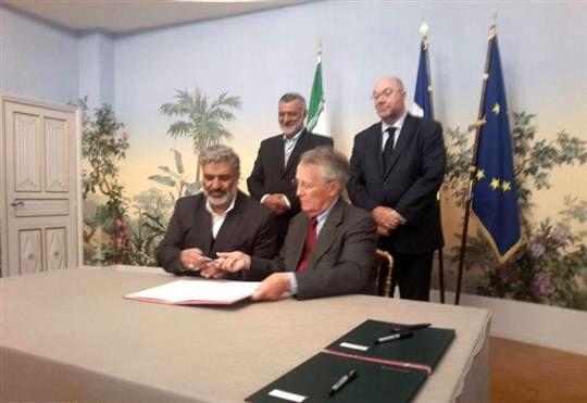 ایران و فرانسه 4 تفاهم نامه همکاری کشاورزی امضا کردند