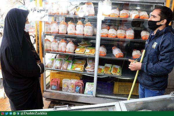 مشکلی در تامین گوشت مرغ در استان قزوین نداریم