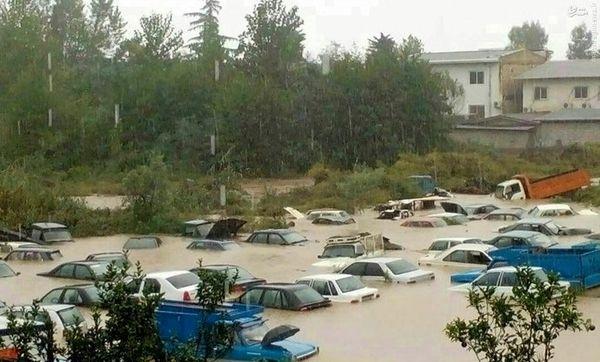 خسارتهای باران پاییزی گسترده است