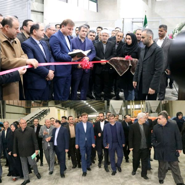 افتتاح کارخانه تولیدانواع خوراک آماده طیور در گیلان