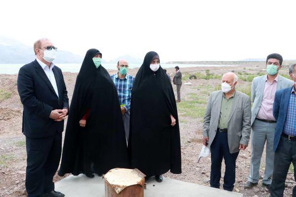 طرح تامین و انتقال آب در روستای سیاهپوش قزوین بازدید شد